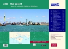 Image for Imray Chart Atlas 2200 : Solent - Selsey Bill and the Isle of Wight to Christchurch