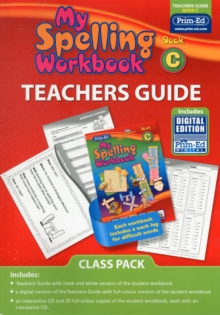 Image for My Spelling Workbook Book C Class Pack