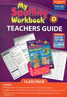 Image for My Spelling Workbook Book D Class Pack