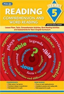 Image for Reading - Comprehension and Word Reading : Lesson Plans, Texts, Comprehension Activities, Word Reading Activities and Assessments for the Year 5 English Curriculum