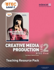 Image for Creative media production 3BTEC level 2: Teaching resource pack