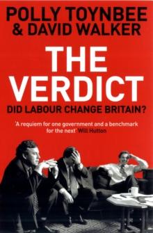 Image for The verdict  : did Labour change Britain?