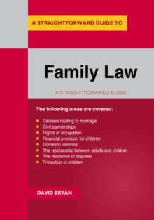 Image for A straightforward guide to family law