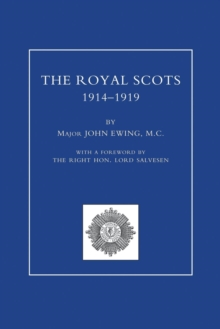 Image for ROYAL SCOTS 1914-1919 Volume Two
