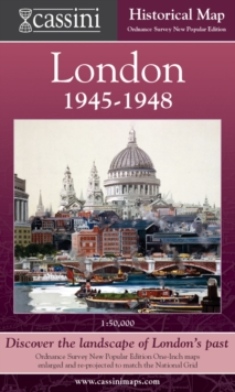 Image for Cassini Historical Map, London 1946-1948 (LON-NPO) : Discover the Landscape of London's Past