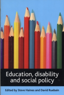 Image for Education, disability and social policy