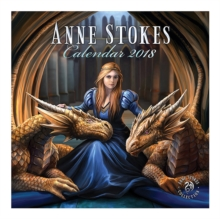 Image for ANNE STOKES SQUARE CALENDAR 2018