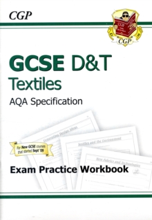 Image for GCSE D&T Textiles AQA Exam Practice Workbook (A*-G Course)