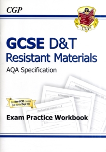 Image for GCSE D&T Resistant Materials AQA Exam Practice Workbook (A*-G Course)