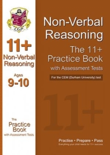 Image for 11+ Non-verbal Reasoning Practice Book with Assessment Tests (Age 9-10) for the CEM Test