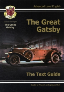 Image for The great Gatsby, F. Scott Fitzgerald  : the text guideAdvanced level English