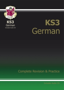 Image for KS3 German Complete Revision & Practice with Audio CD