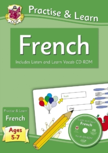 Image for Practise & Learn: French for Ages 5-7 - with vocab CD-ROM
