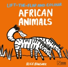 Image for Lift-the-flap and Colour African Animals