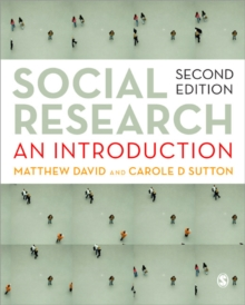 Image for Social research  : an introduction