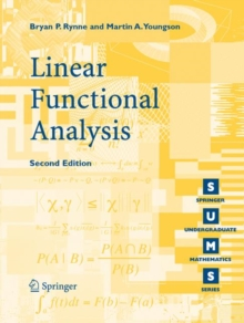 Image for Linear functional analysis