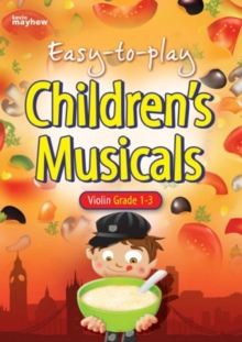Image for Easy-To-Play Children's Musicals - Violin