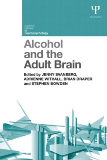 Image for Alcohol and the adult brain