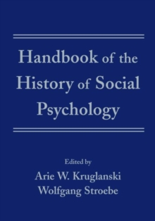 Image for Handbook of the history of social psychology