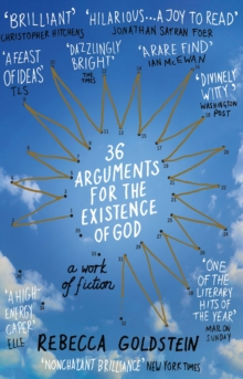Image for 36 arguments for the existence of God  : a work of fiction