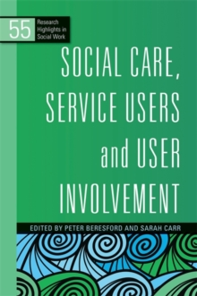 Image for Social care, service users and user involvement
