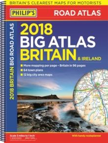 Image for Philip's big road atlas Britain and Ireland 2018