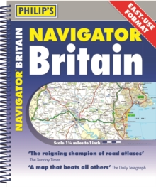 Image for Philip's Navigator Britain Easy Use Format