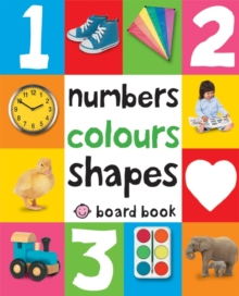 Image for Numbers, colours, shapes board book