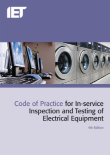 Image for Code of practice for in-service inspection and testing of electrical equipment