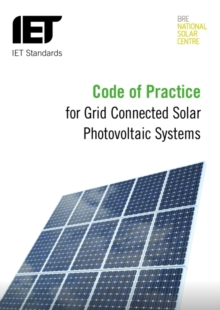 Image for Code of practice for the design, installation and operation of solar photovoltaic systems