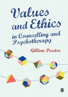 Image for Values and ethics in counselling and psychotherapy