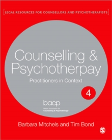 Image for Legal issues across counselling & psychotherapy settings  : a guide for practice