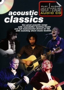 Image for Play Along Guitar Audio CD : Acoustic Classics