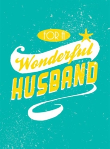 Image for For a wonderful husband