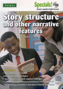 Image for Secondary Specials! English: Story Structure and Other Narrative Features