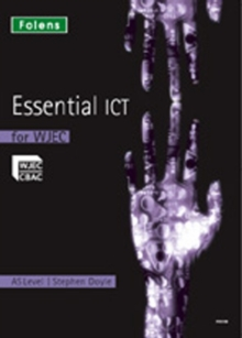 Image for Essential ICT A Level: AS Teacher's Support CD-ROM for WJEC