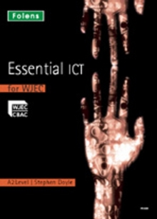 Image for Essential ICT for A Level: A2 Teacher's Support CD-ROM for WJEC