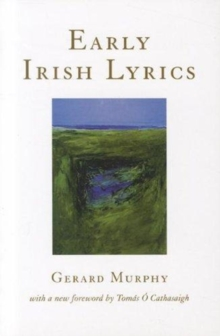Image for Early Irish lyrics, 8th-12th century