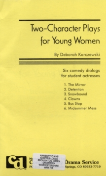 Image for Two-character Plays for Young Women : Six Comedy Duologues for Students