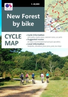 Image for New Forest by Bike : Cycle Map