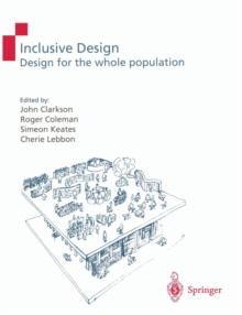 Image for Inclusive design  : design for the whole population