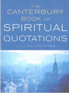Image for The Canterbury Book of Spiritual Quotations