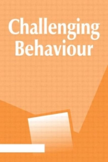 Image for Challenging behaviour  : principles and practice