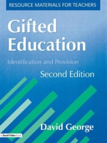 Image for Gifted education  : identification and provision