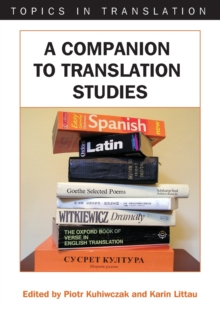 Image for A companion to translation studies