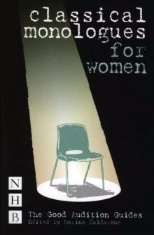Image for Classical monologues for women