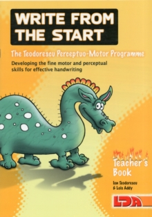 Image for Write from the start  : the Teodorescu perceptuo-motor programme: Teacher's book