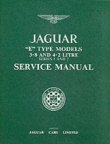 Image for Jaguar E-Type 3.8/4.2 Series 1 and 2 Workshop Manual