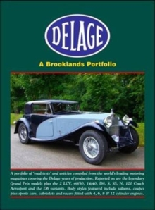 Image for Delage a Brooklands Portfolio