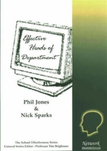 Image for Effective heads of department
